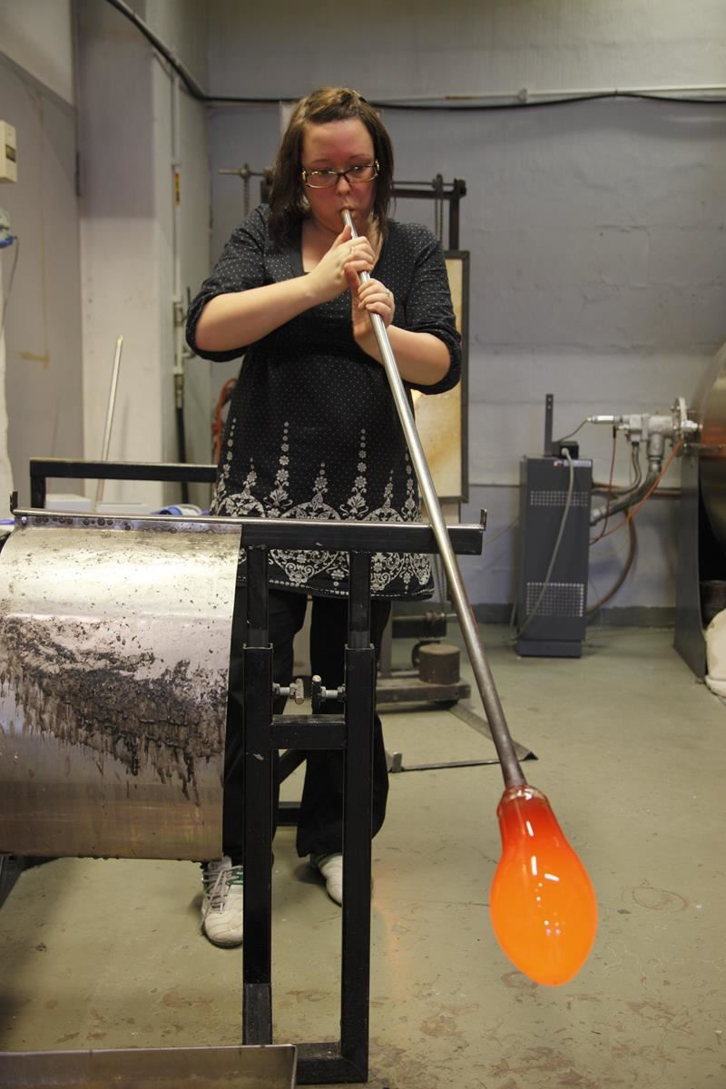 © Visit Tromsø-region, Blåst Glass blowing studio