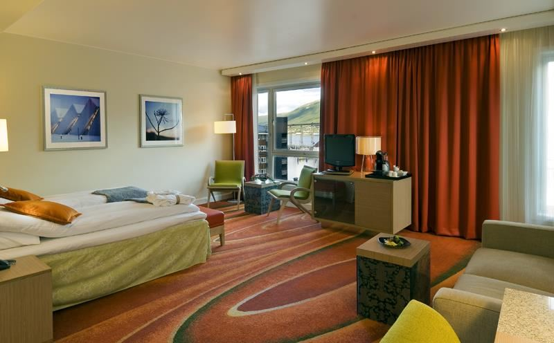 © Radisson Blu Hotel Tromsø, Radisson Blu Hotel is centrally located, and has several rooms both overlooking the sea and the city