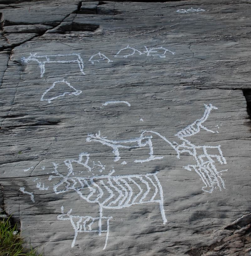Rock Carvings at Tennes
