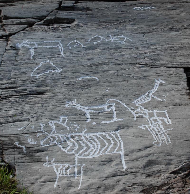 © Balsfjord kommune, Rock Carvings at Tennes