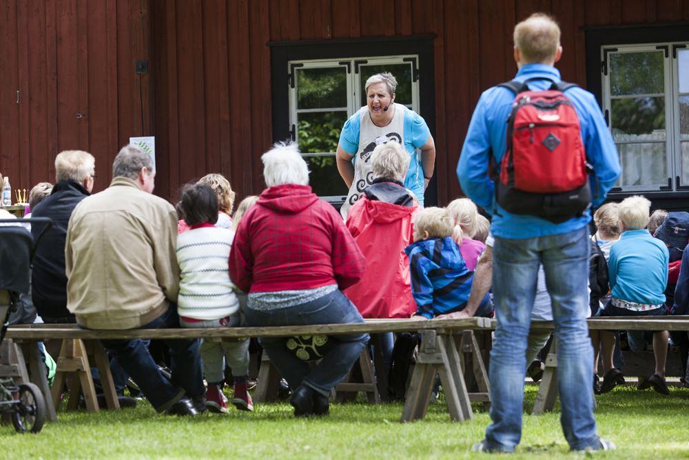 Ljungby Berättarfestival 15-18 Juni - Fredagens program i Ljungby