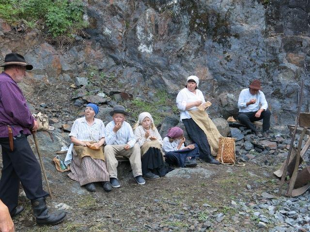 © Anna Falkengren, Ekomuseum., Säsongstart på Flogbergets gruvor