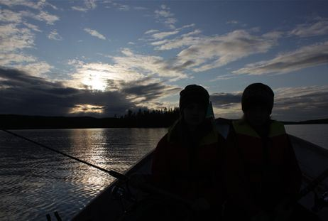 Fishing licenses Svanisträsk