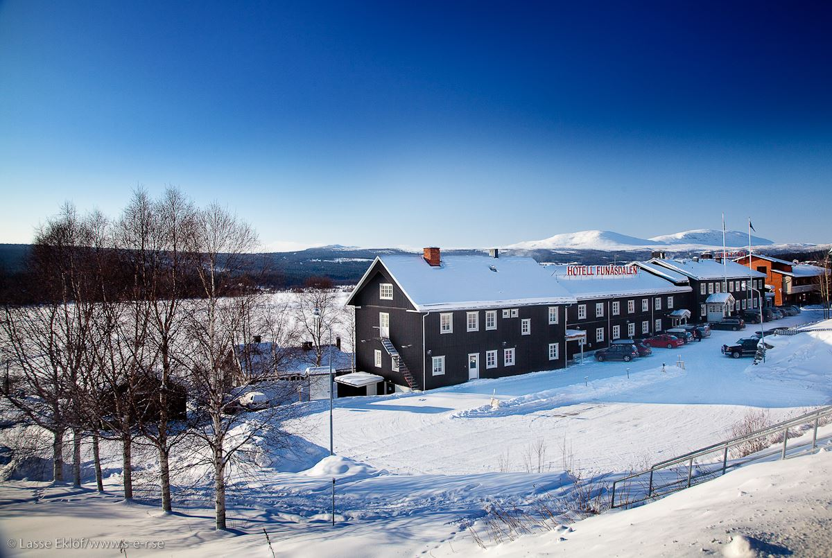 Youth hostel, Hotell Funädalen