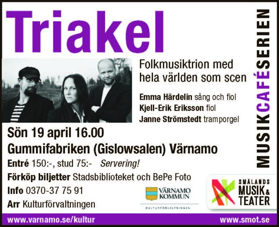 © SMOT, Musikcaféserien med Triakel