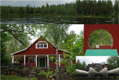 Paddla kanot på Alsterån