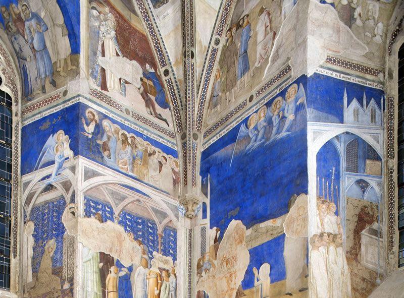 Le Palais des Papes et les décors peints de Mattéo Giovanetti