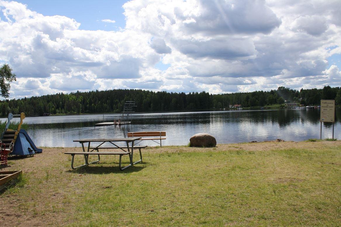 Stensjön bathing area, Nömmen