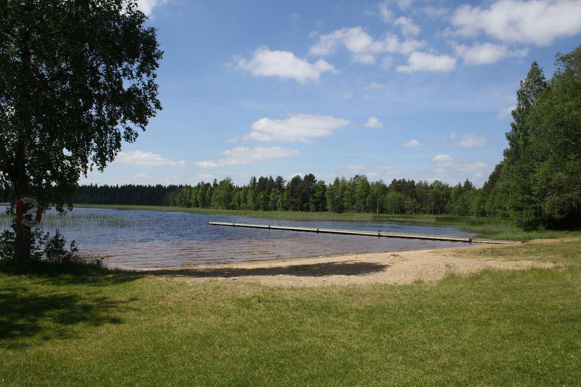 Ormaryds badplats, Sjunnarydssjön