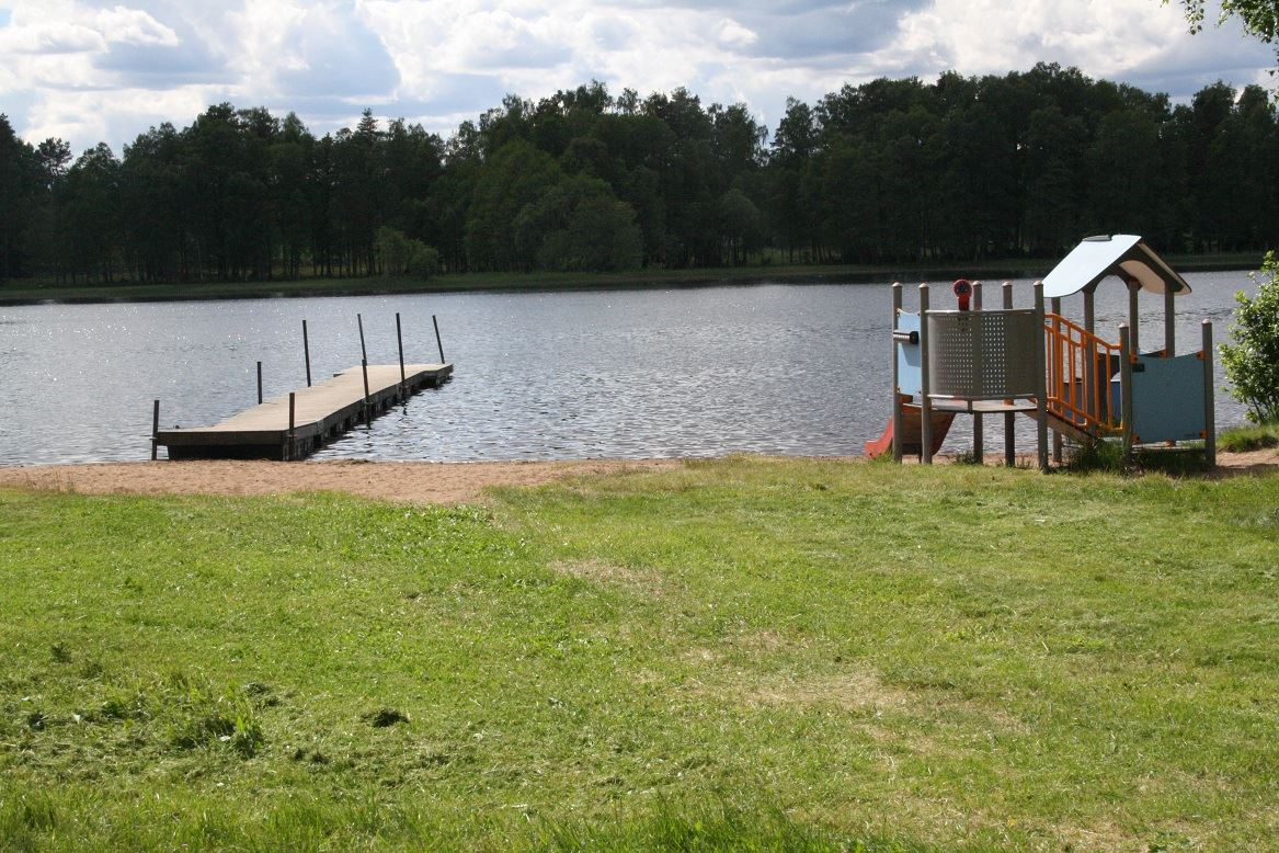 Gisshult bathing place, Gisshultasjön Lake