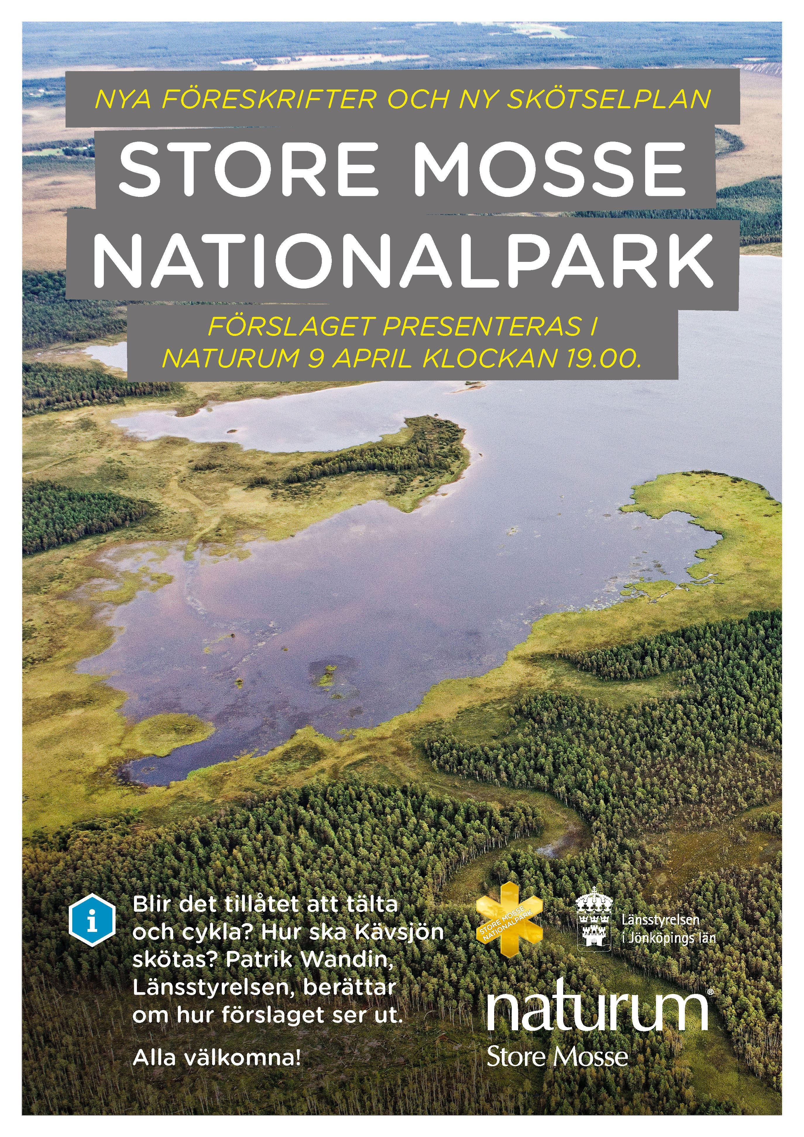 Hur ska vi sköta nationalparken? 9 april kl 19.00 i naturum