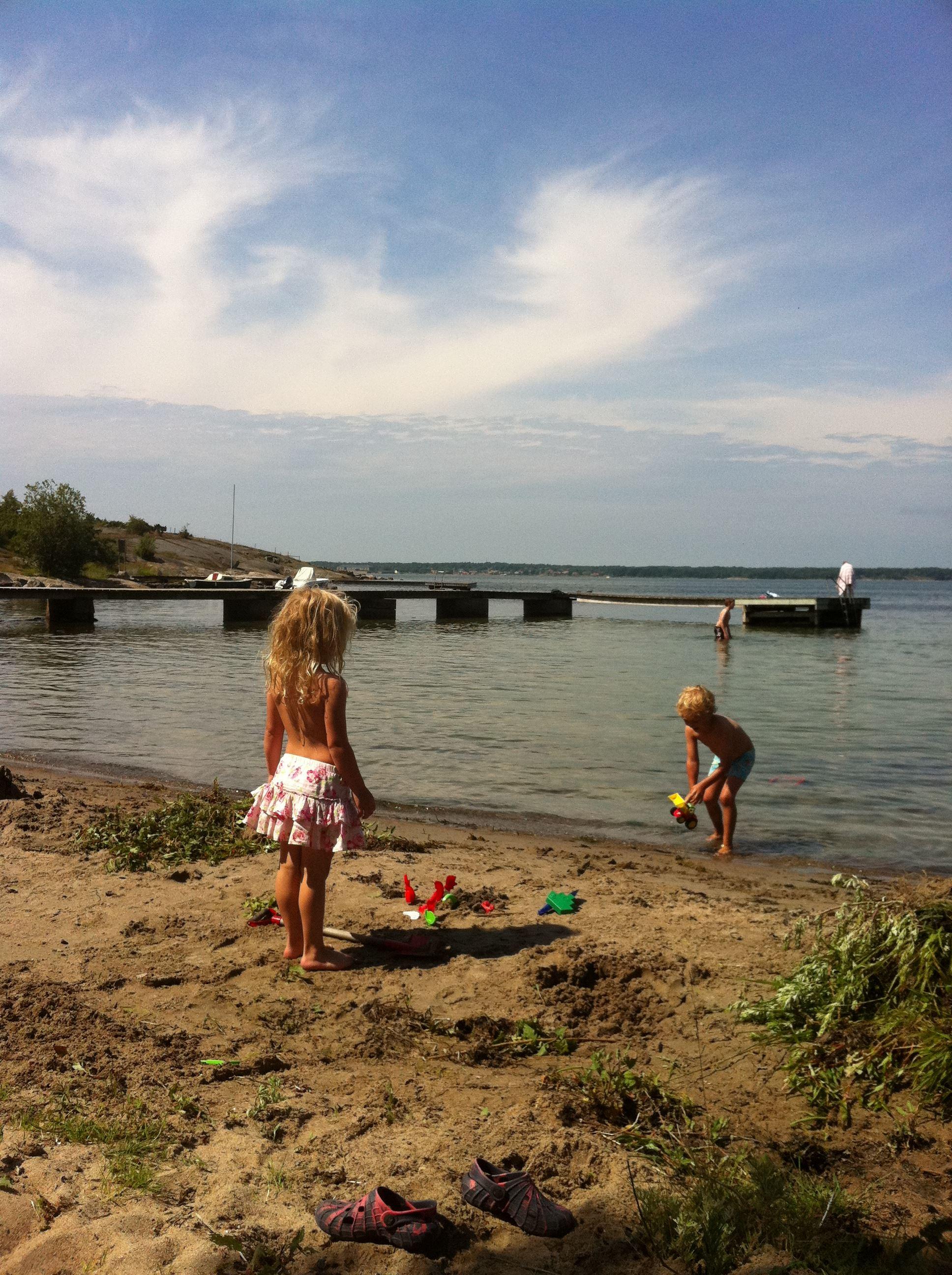 Bathing spot - Hägnan