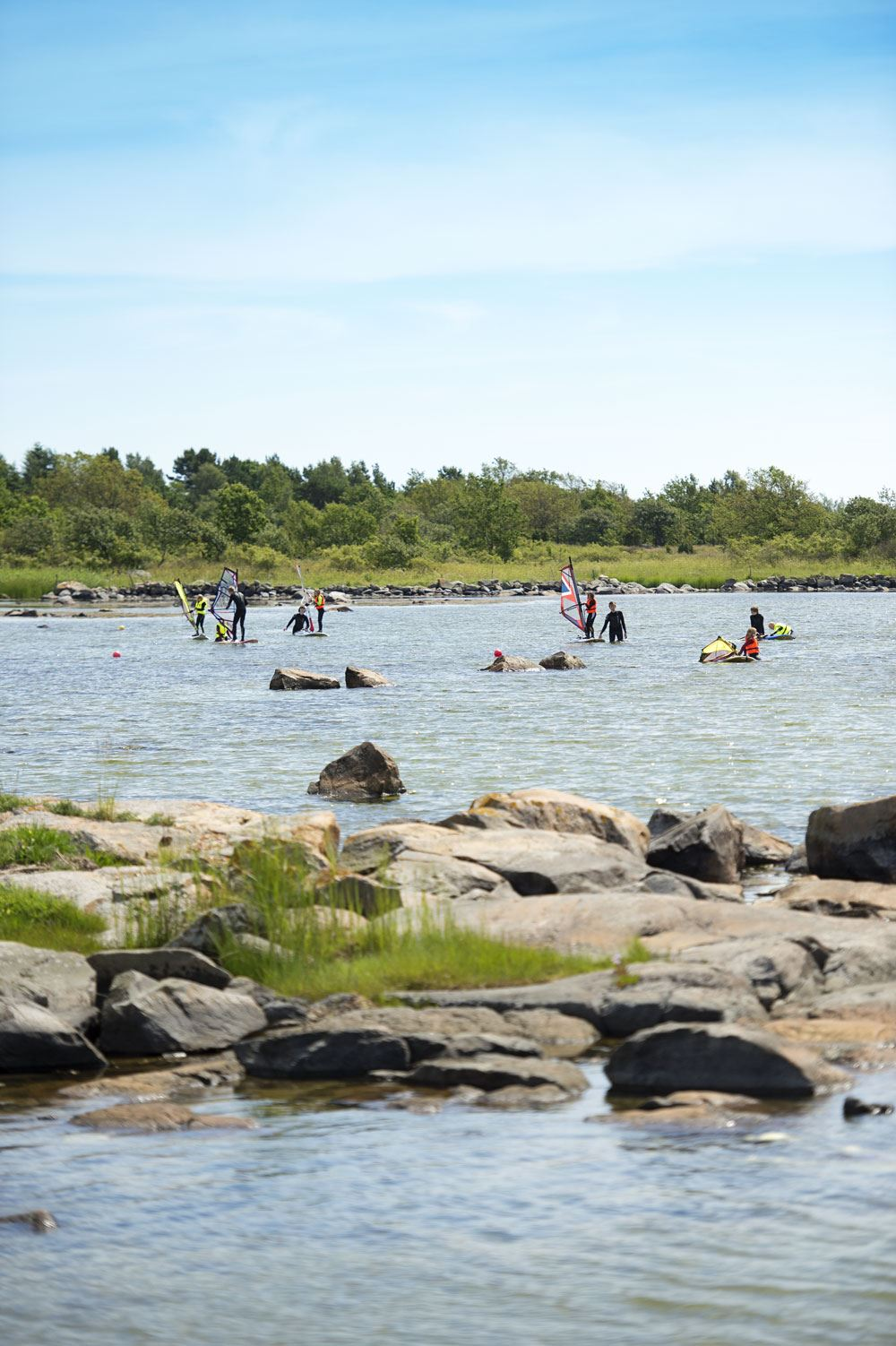 Bathing spot - Pettervik