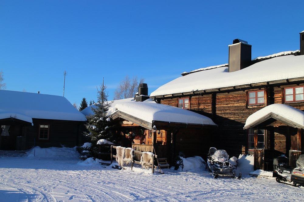 Knappgården, Knappgården Fjällhotell