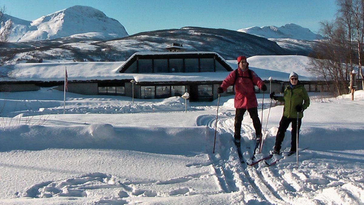 Skitur ved Fjellkysten Gjestehus