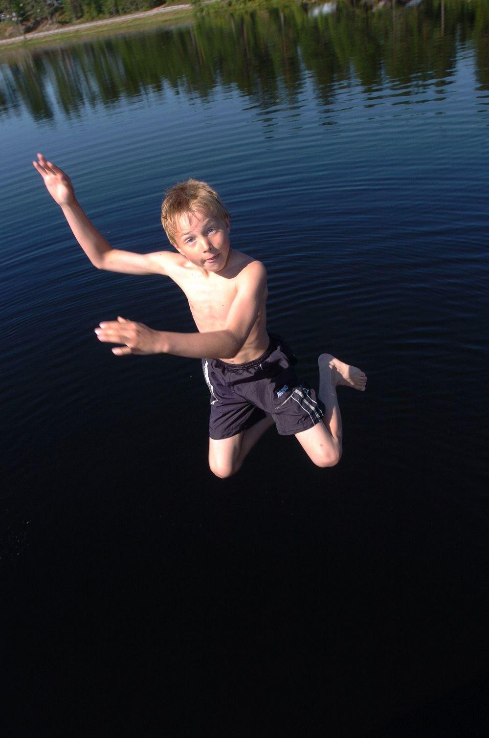Nisse Schmidt, Nornäs badplats