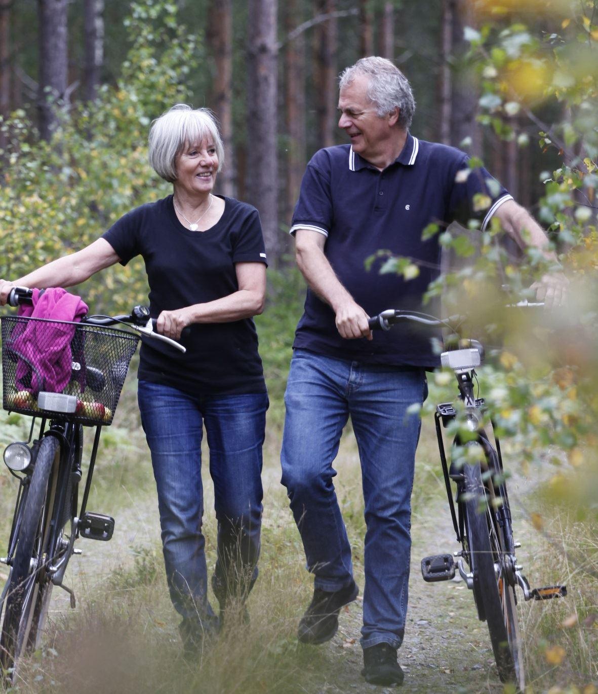 Cykla i Glasriket