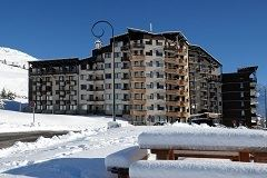 Studio cabine 3 Pers 150 m des pistes / MEDIAN 408