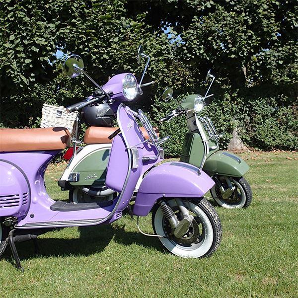 Location de scooter à Tours - La Touraine en toute liberté