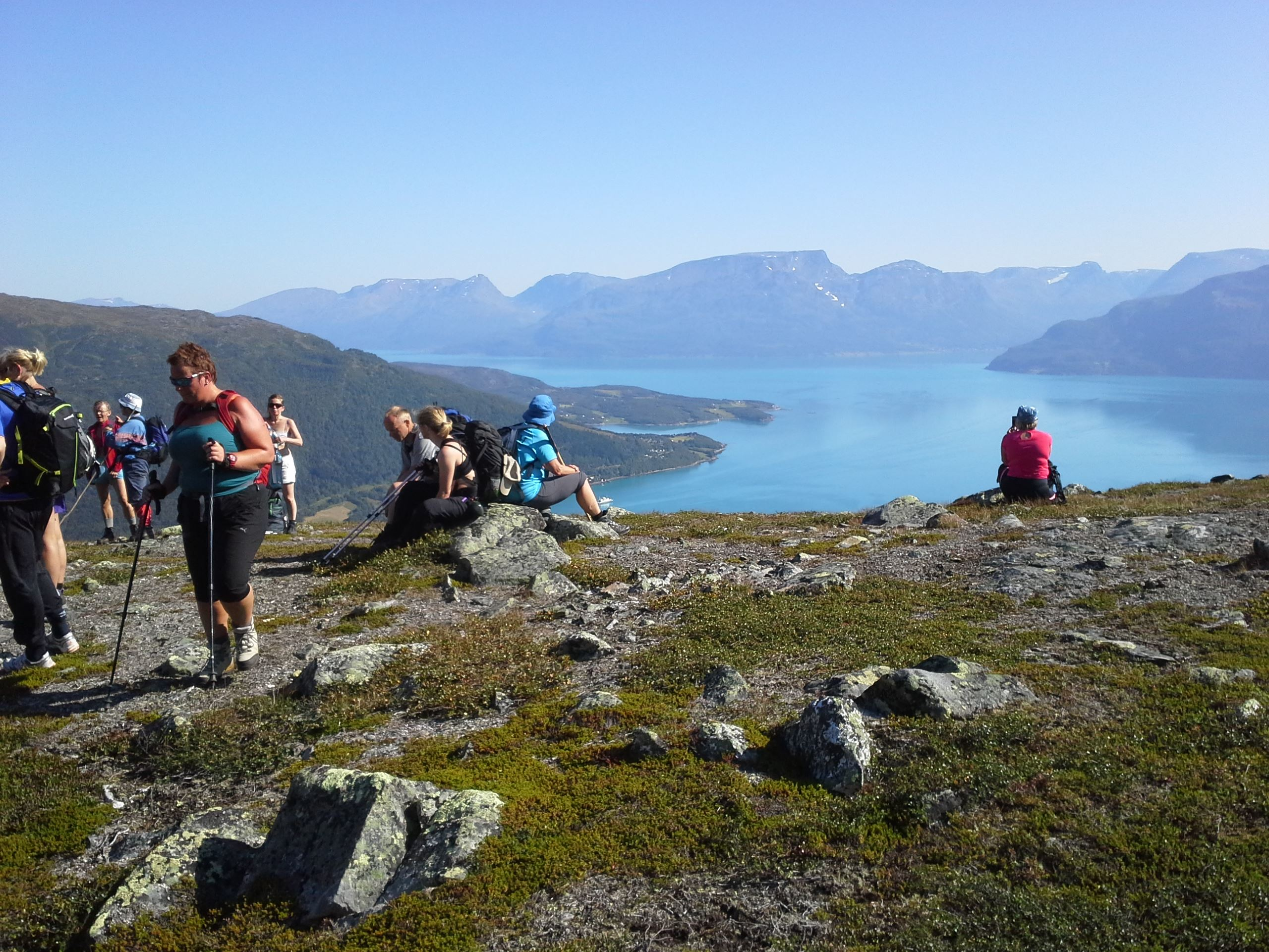 Hiking: Look to the Lyngen Alps