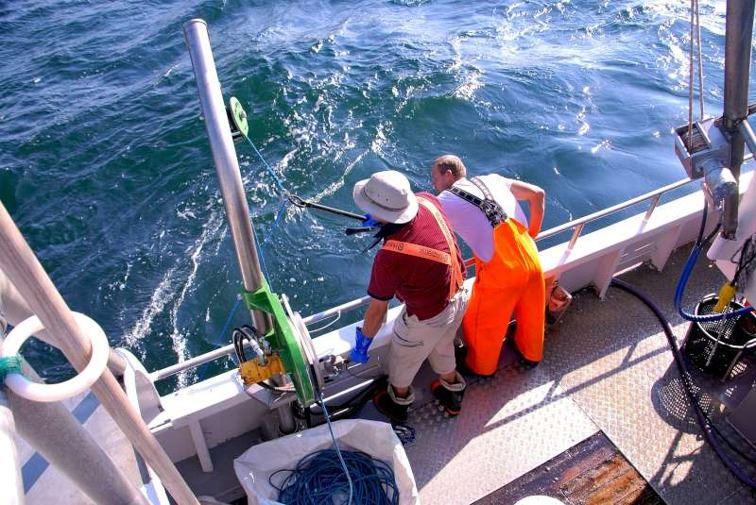 Fishing with local fishermen