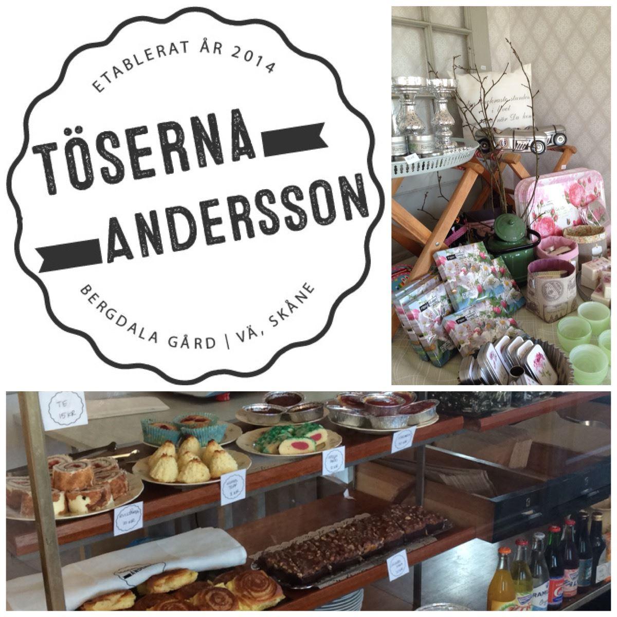Töserna Andersson - butik och café