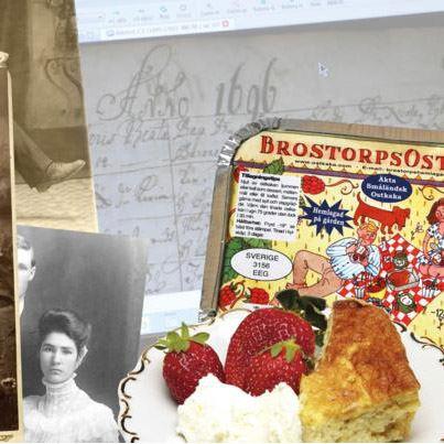 Amerikaveckan: Släktforska med ostkaka, Brostorps gård, Ydre
