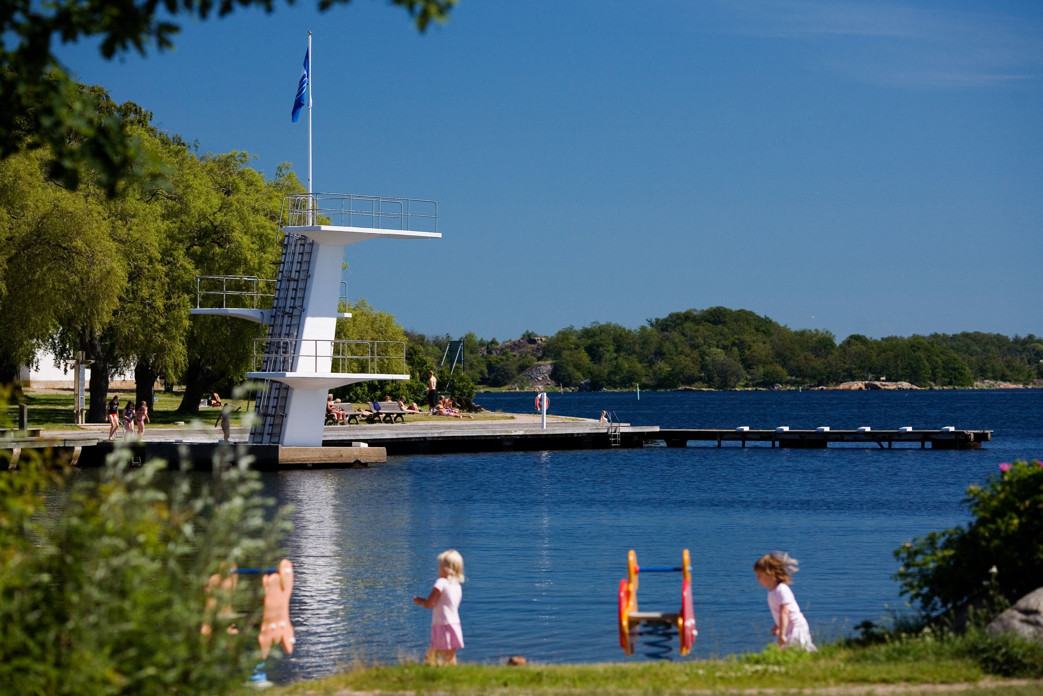 Badplats - Stumholmen
