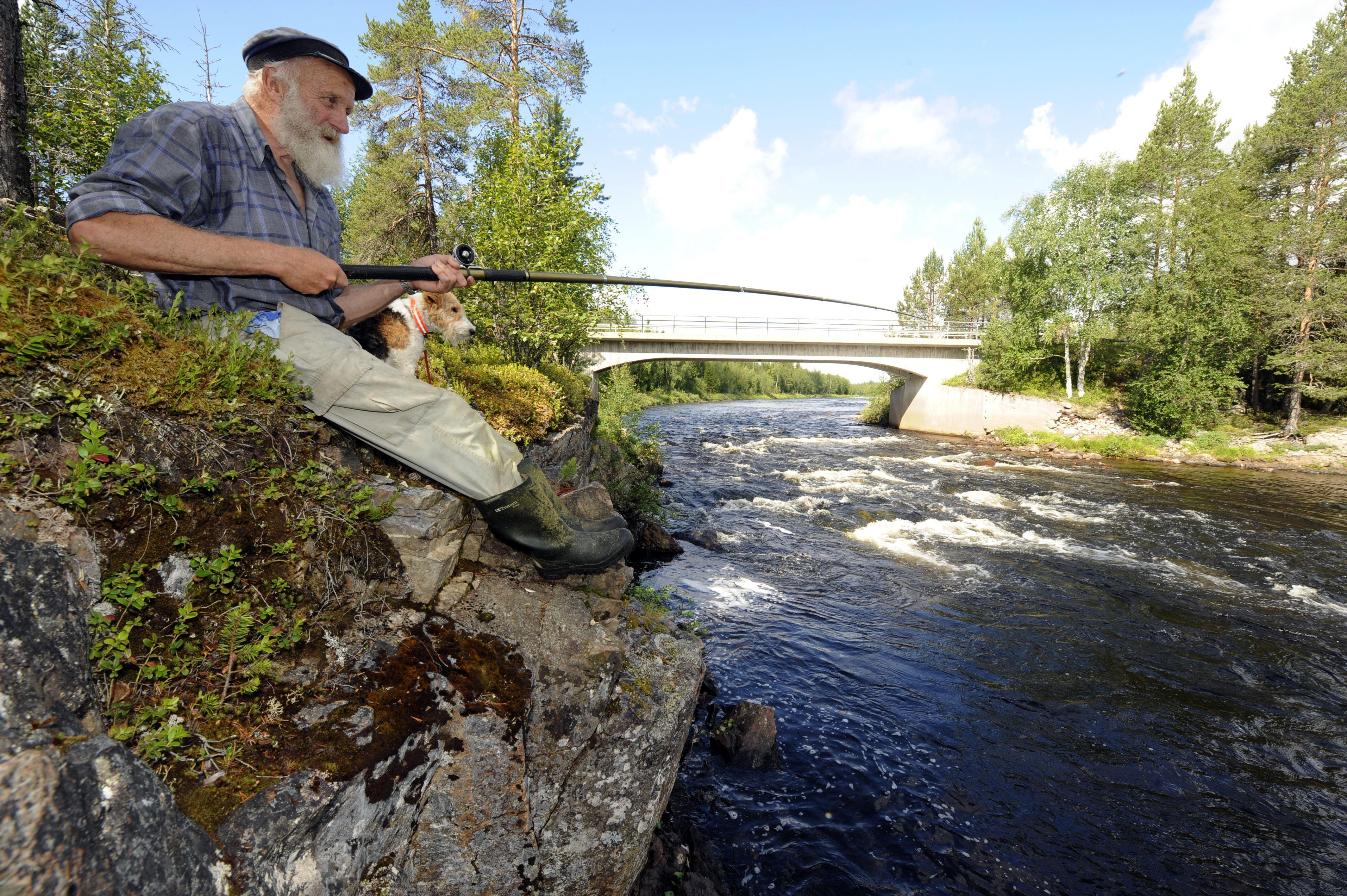 Älvdalen's Fishing area