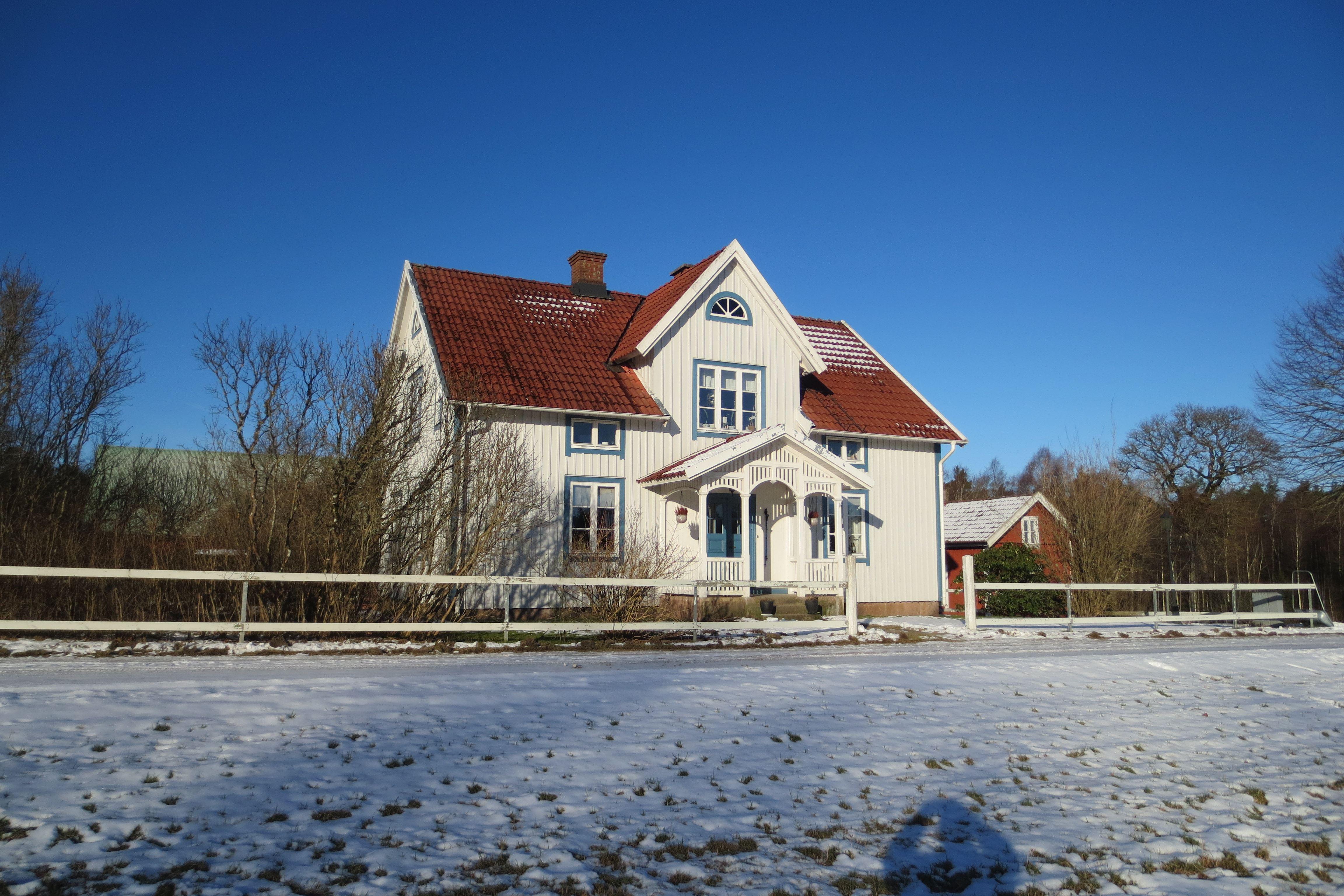 Hus utanför Anderstorp