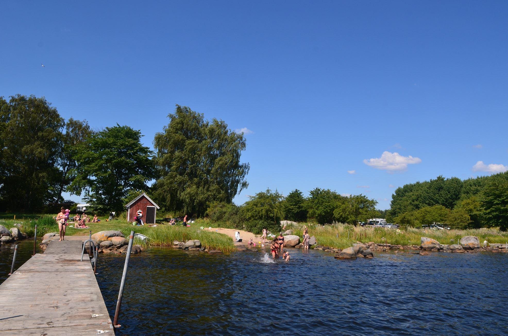 Tobias Delfin, Tomsabo badplats, Edenryd