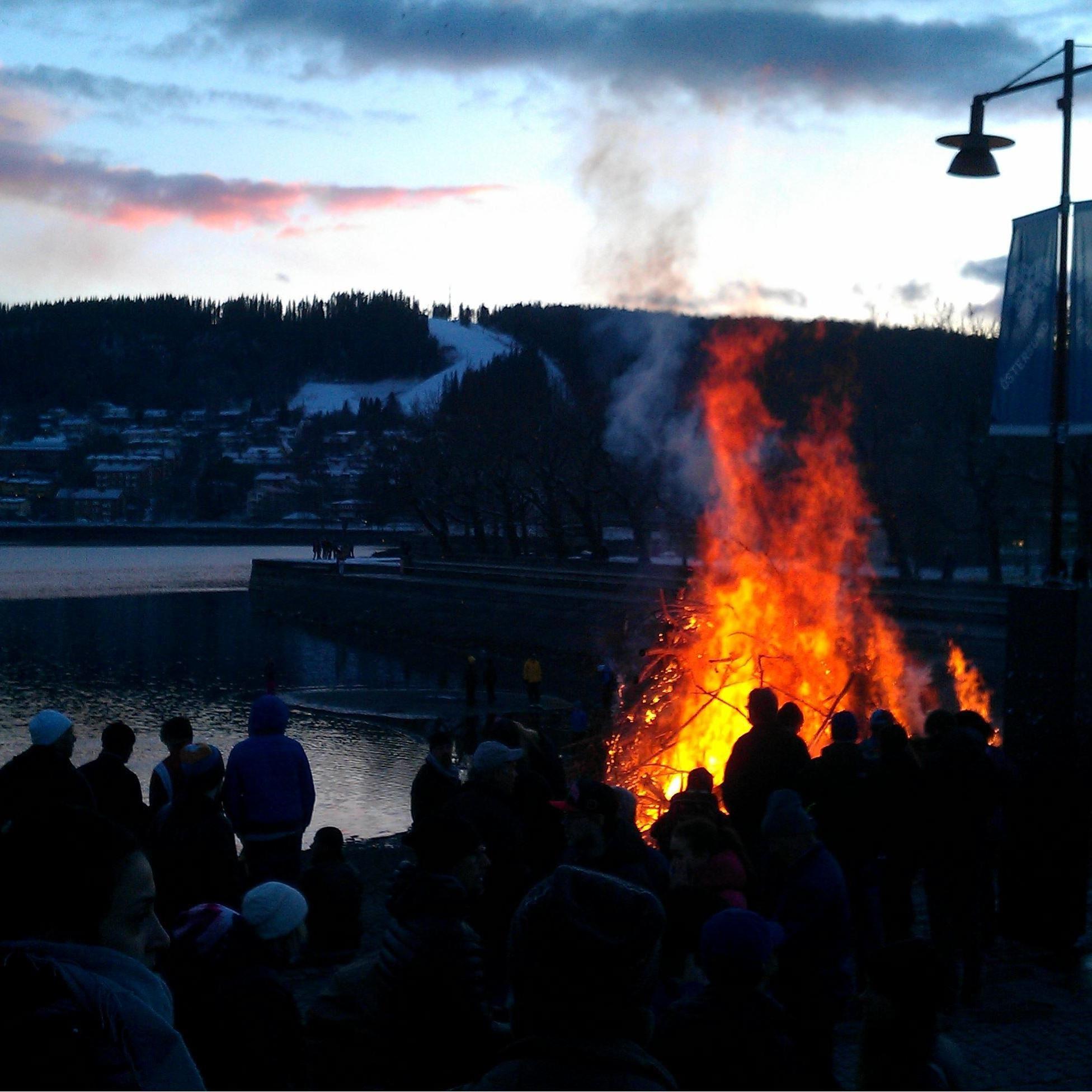 Valborgsmässofirande i Vinterparken