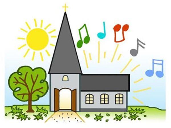 Mässa med blockflöjtsmusik i Sandby kyrka