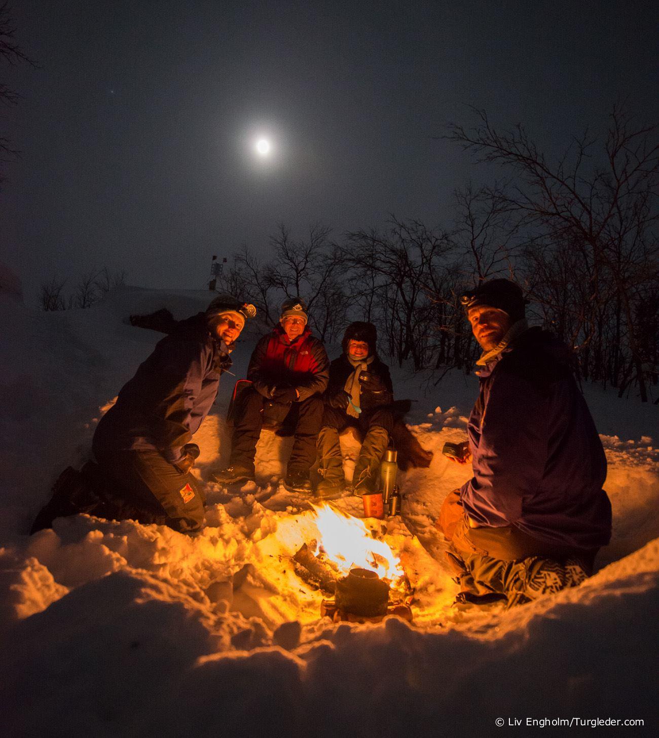 Northern light activity week