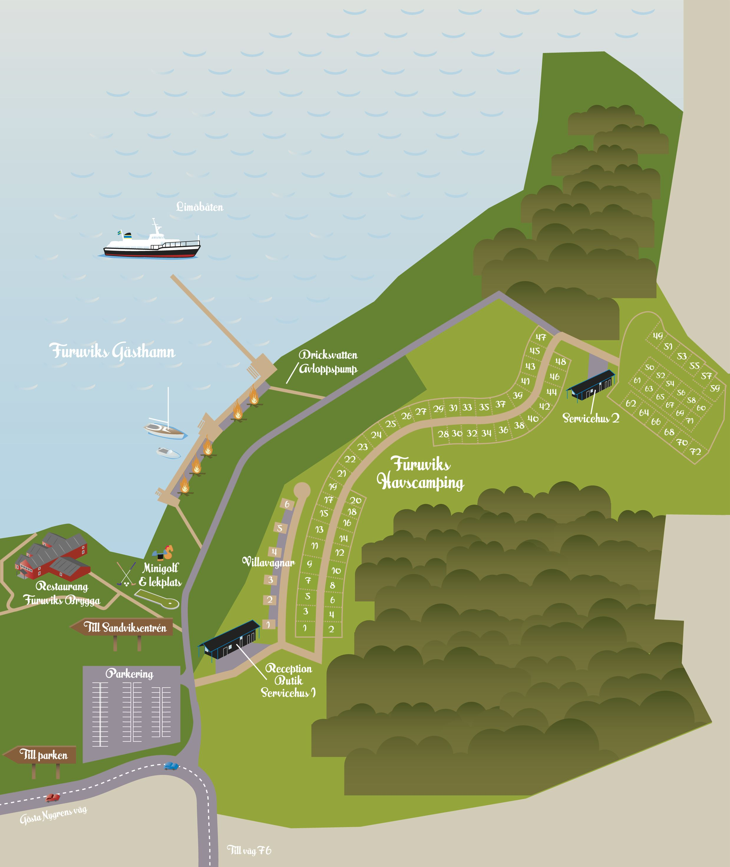 Furuvik's Sea Camping and Guest Marina