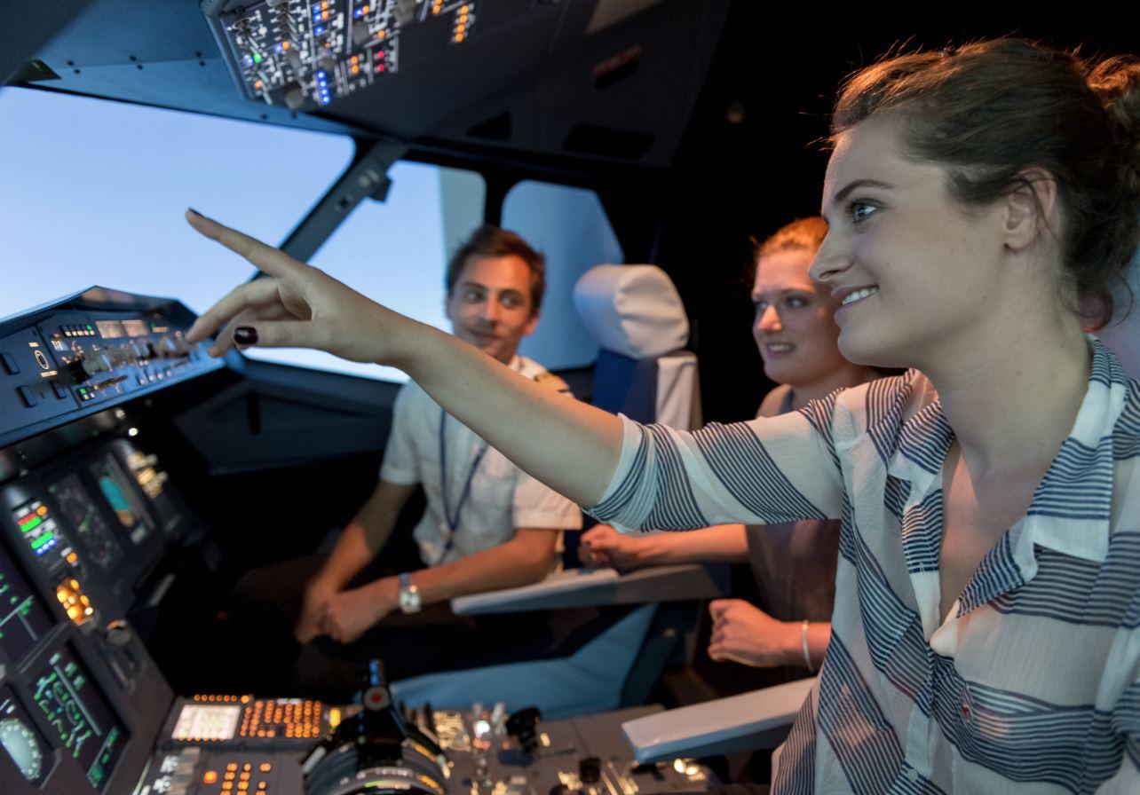 Simulatore di volo con Aviasim