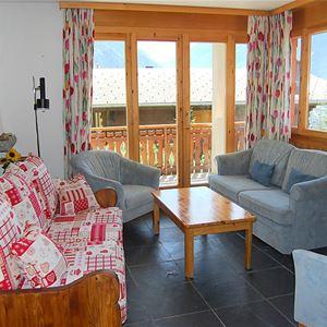 Lägenhet för upp till 5 personer med 3 rum på Les Cretes II - Veysonnaz