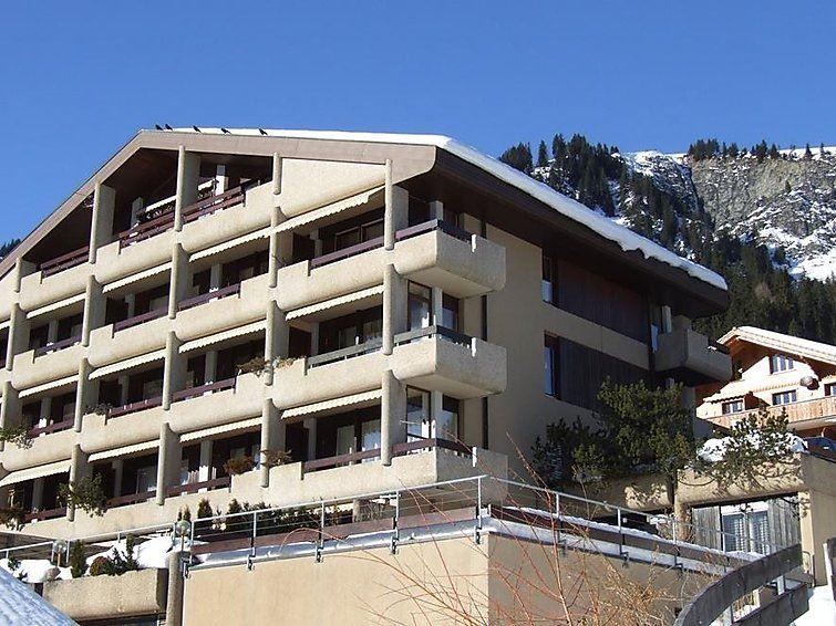 Lägenhet för upp till 4 personer med 3 rum på Crystal - Adelboden