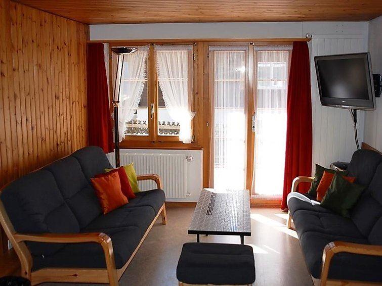 Lägenhet för upp till 5 personer med 3 rum på Zwahlen 1 Parterre - Adelboden