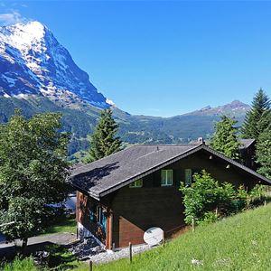 Lägenhet för upp till 6 personer med 3 rum på Chalet Bienli - Grindelwald