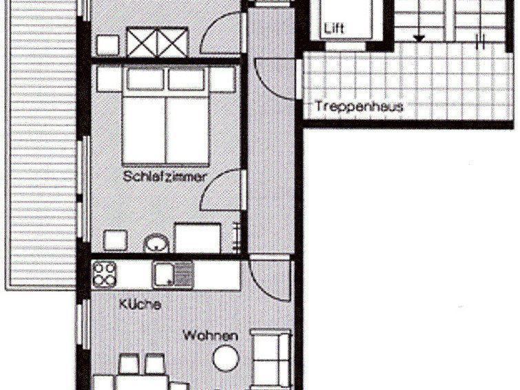 Lägenhet för upp till 4 personer med 3 rum på Orion - Saas-Fee