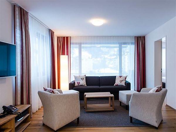Lägenhet för upp till 6 personer med 3 rum på TITLIS Resort Wohnung 213 - Engelberg