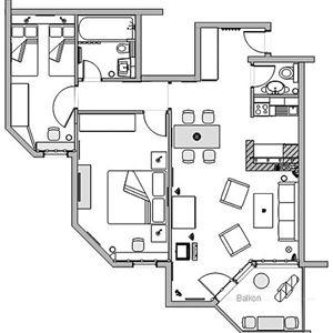 Lägenhet för upp till 4 personer med 3 rrum på CRAP GRISCH TAVAUN A12 - Flims