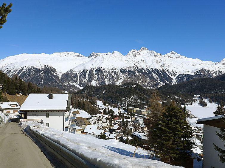 Lägenhet för upp till 2 personer med 2 rump på Chesa Munt Sulai - St. Moritz