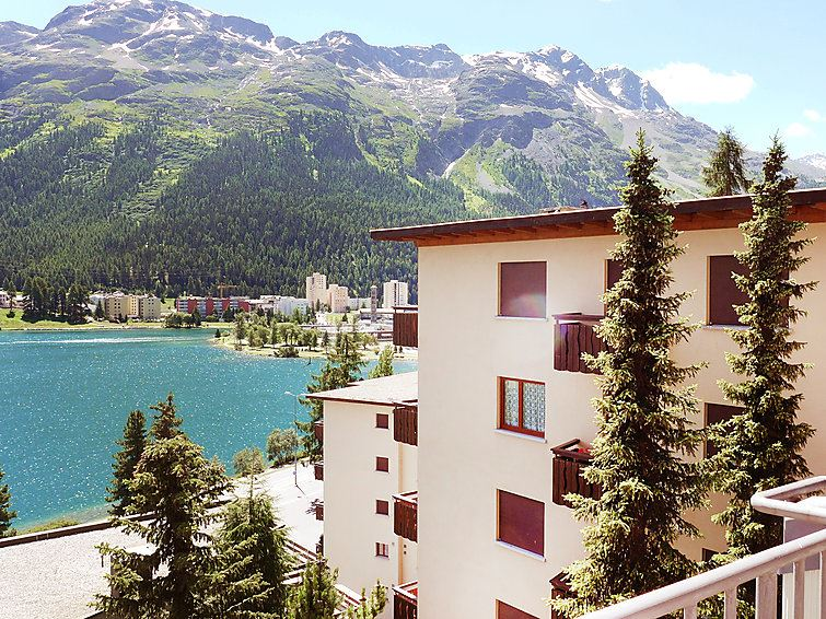 Lägenhet för upp till 4 personer med 2 rum på Sonnalpine - St. Moritz