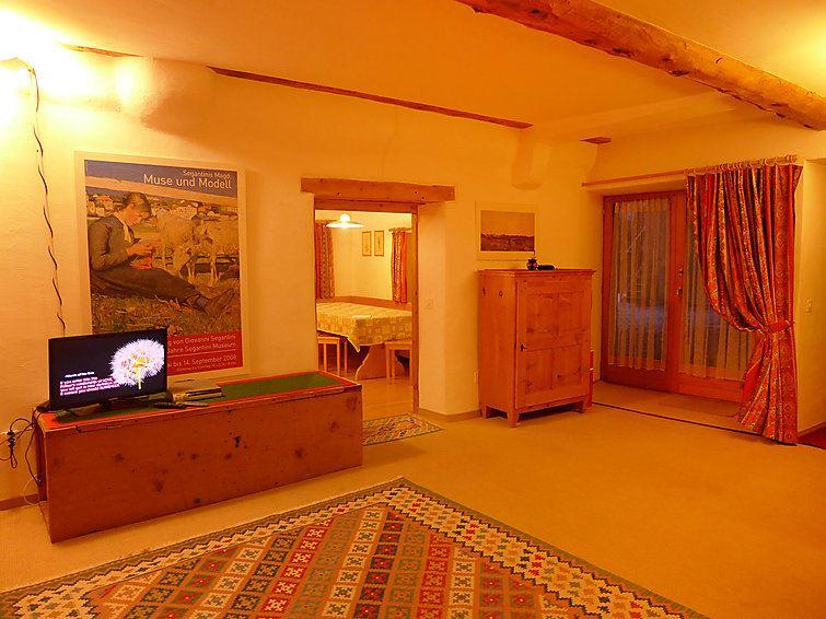 Lägenhet för upp till 4 personer med 2 rum på Chesa Frizzoni - Celerina