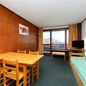 Lägenhet för upp till 6 personer med 2 rum på Les Moutières B1 et B2 - Tignes