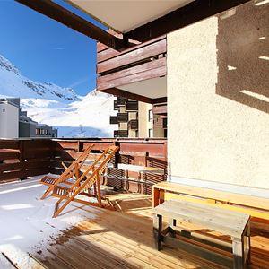 Lägenhet för upp till 6 personer med 2 rum på Le Curling A - Tignes