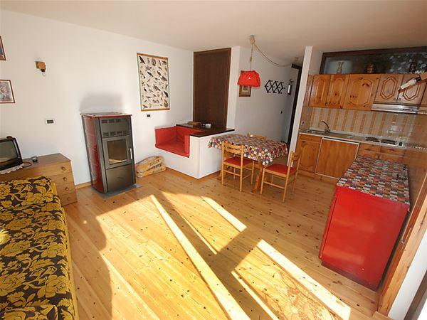 Lägenhet för upp till 4 personer med 2 rum på Salin - Campitello