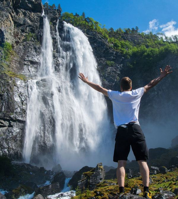Fjord RIB Adventure + Waterfall Hike